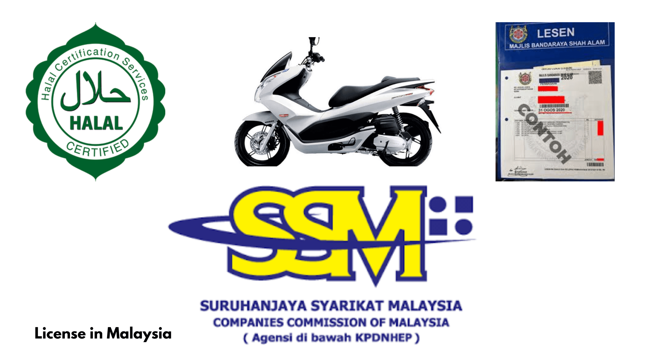 Apply for license in Malaysia